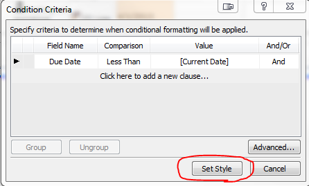 Conditional Formatting | The Chris Kent