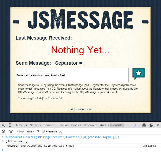 SendMessage