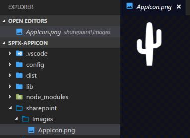 Icon in VSCode