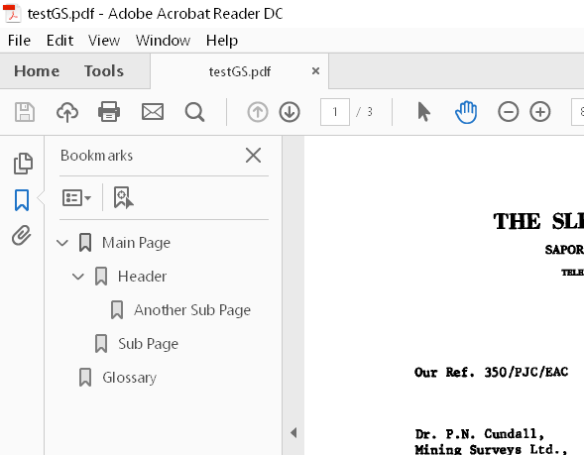 Adding Bookmarks to PDF Documents with pdfmark | The Chris Kent